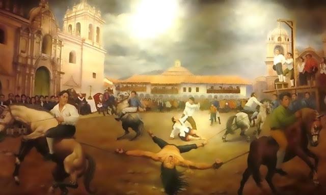 18 de mayo - Sacrificio Heroico de Túpac Amaru y Micaela Bastidas