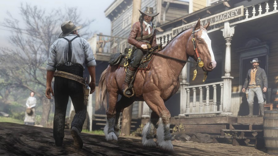 red dead online frontier pursuits update new steed red roan breton rdr2 ultimate edition ps4 xbox one rockstar games
