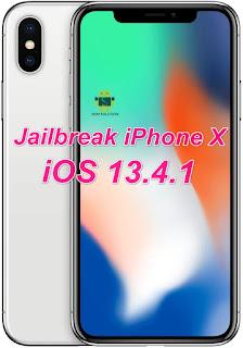 Jailbreak iPhone X [A1865-A1901-A1902]  iOS 13.4.1 On Windows Pc