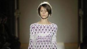 Vestido de encaje al crochet