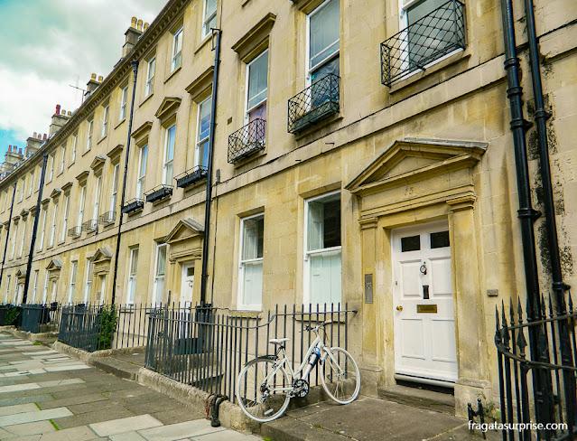 The Paragon, primeira morada de Jane Austen em Bath