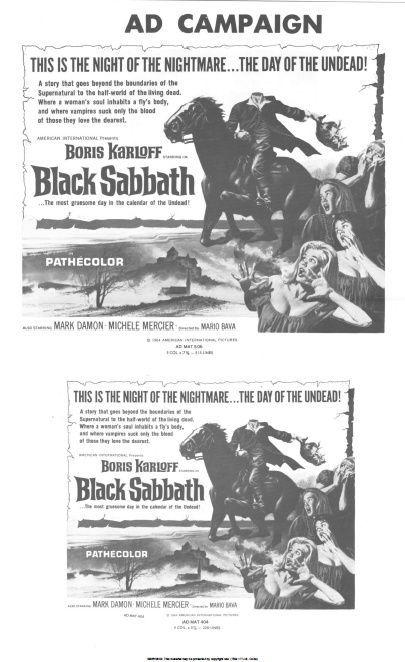 the celluloid highway press book collection black sabbath 1963. Black Bedroom Furniture Sets. Home Design Ideas