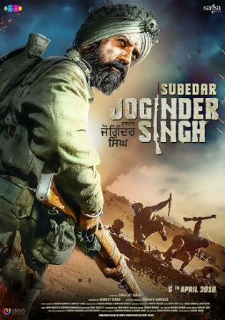 Subedar Joginder Singh 2018 Punjabi 350MB DvD-Scr 480p