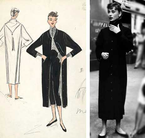 Sabrina Edith Head figurinos