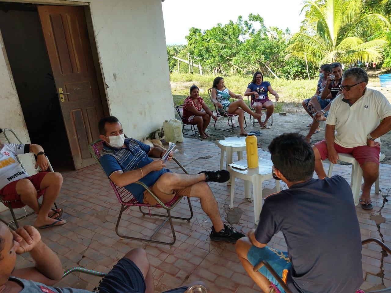 POLÍTICA | Secretário de Articulação Política, Aluizio Santos visita comunidade da zona rural de Chapadinha e ouve reivindicações