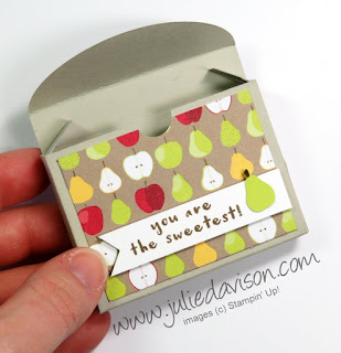 Tutti Frutti Mini Box + Video Tutorial ~ www.juliedavison.com