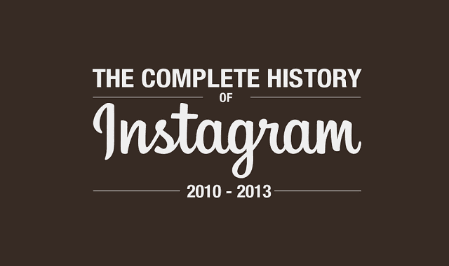 The Complete History of Instagram  #Infographic