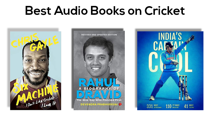 Best Audio Books Based on Cricket Available on Audible