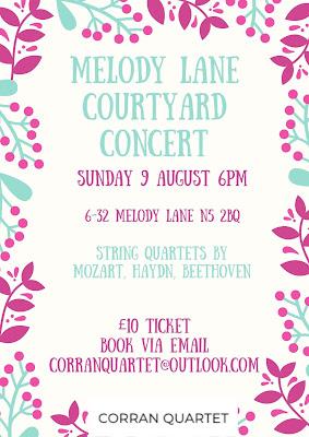 Corran Quartet - Melody Lane concert