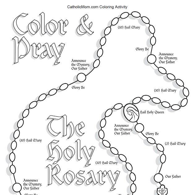 TealwaterDesigns: My Very First Rosary