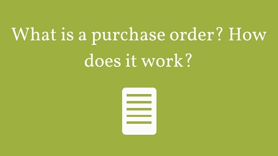 Purchase Order Definition Picture