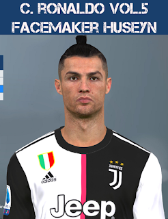 PES 2017 Faces Cristiano Ronaldo by Huseyn