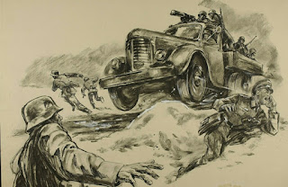 andreas hauge drawing of major brock's brekthru