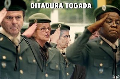 Resultado de imagem para ditadura de toga