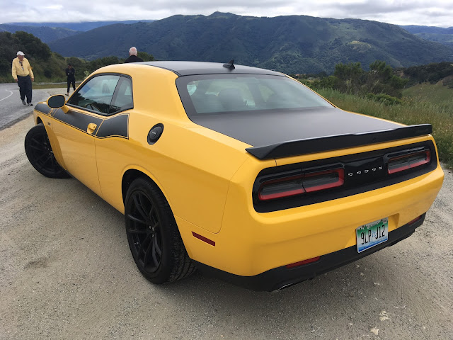 Rear 3/4 view of 2017 Dodge Challenger T/A 392
