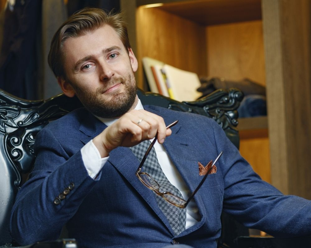 man-with-blue-suit