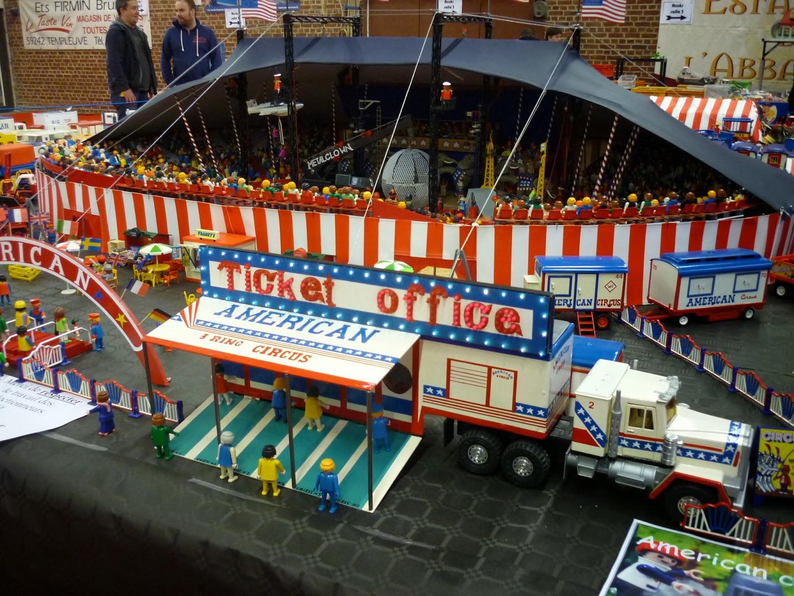 Wonderlijk Circusmodellbau: American Circus Playmobil ED-11