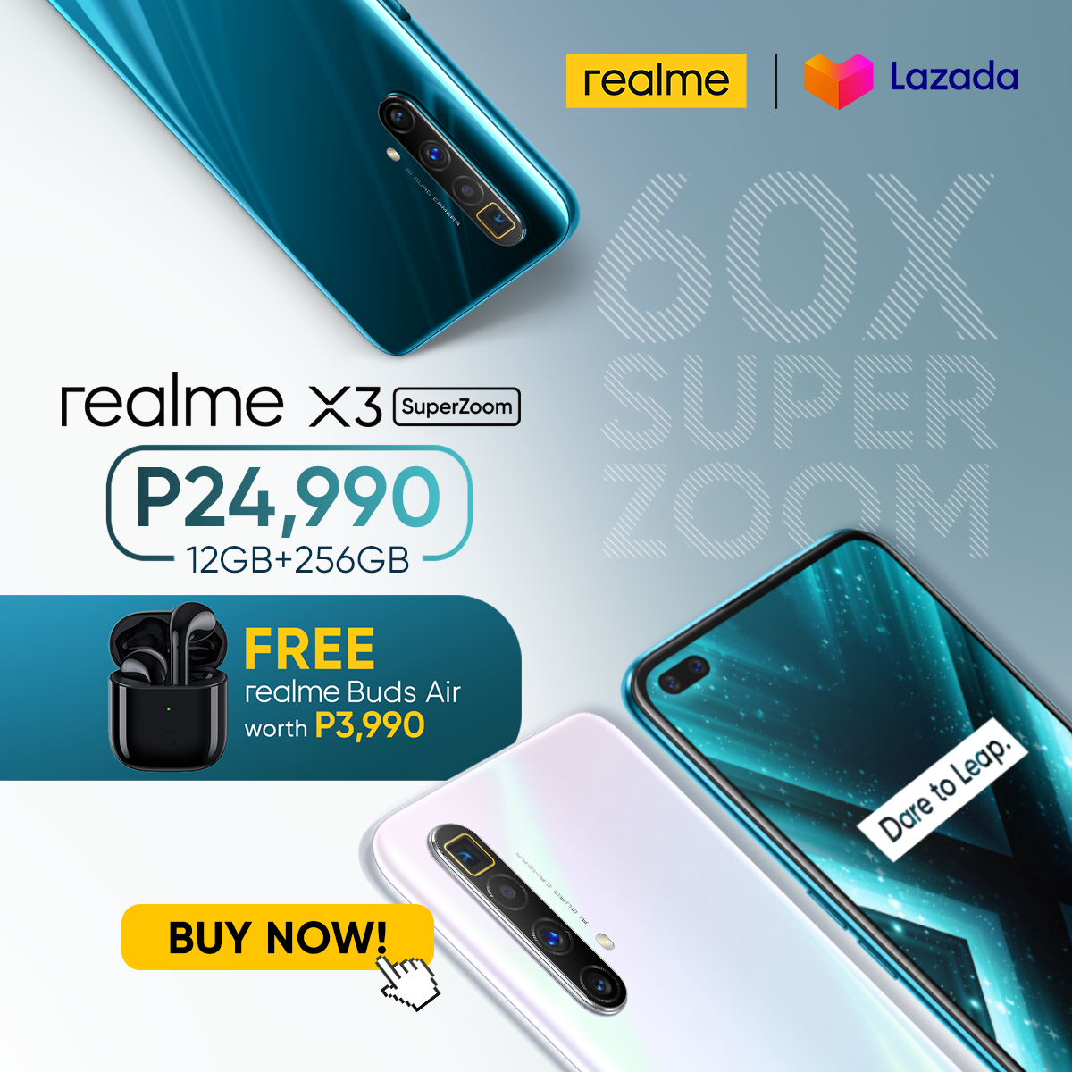 The First Flagship Realme X3 Superzoom Now Launched For Only Php24 990