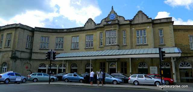 Estação Ferroviária de Bath, Inglaterra