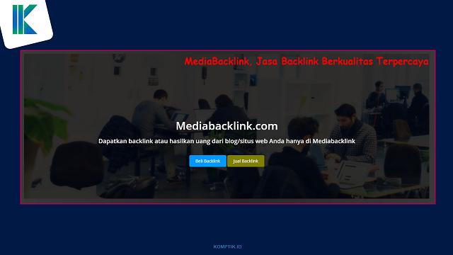 MediaBacklink, Jasa Backlink Berkualitas Terpercaya