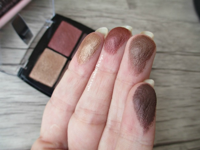 Eye Shadow Cuartet Ralaunch - 11 Bohemian de Isadora - Swatches