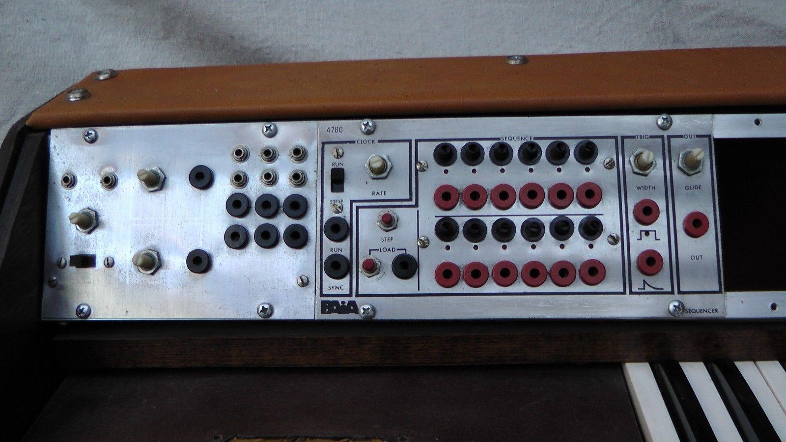 matrixsynth vintage paia modular synthesizer rack unit plus keyboard. Black Bedroom Furniture Sets. Home Design Ideas