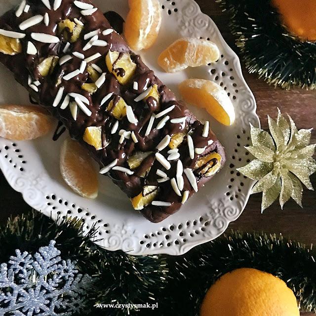Ciasto czekoladowe na soku pomarańczowym
