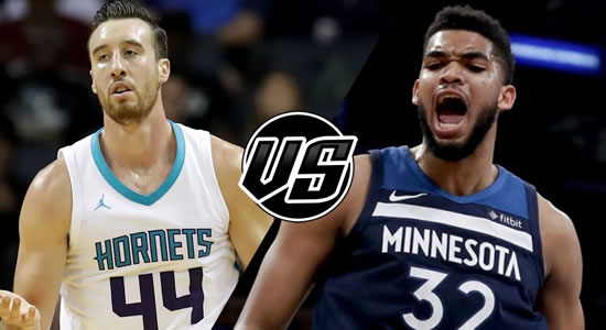 Live Streaming List: Charlotte Hornets vs Minnesota Timberwolves 2018-2019 NBA Season