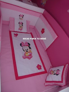 Set de maxicuna minnie
