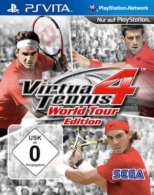 Virtua Tennis 4: World Tour Edition [PSVita][USA][HENkaku][Mega]