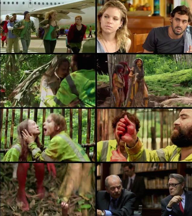 The Green Inferno 2013 WEB-DL 720p 350MB