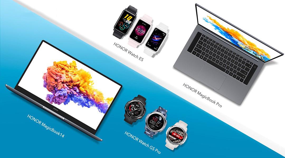 HONOR agrega un nuevo reloj inteligente y un PC portátil de alto rendimiento a su ecosistema de vida inteligente en IFA 2020
