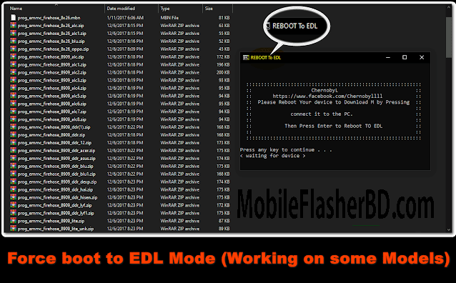 Download Qualcomm Reboot to EDL and Firehose File All Models CPU [FREE]