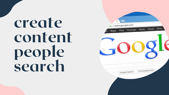 create searchable content