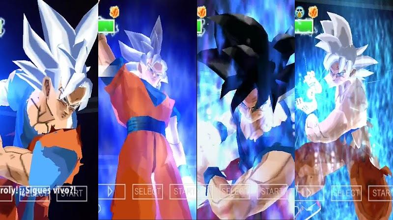 DBZ Budokai Tenkaichi 3 Mod for Android PSP Game
