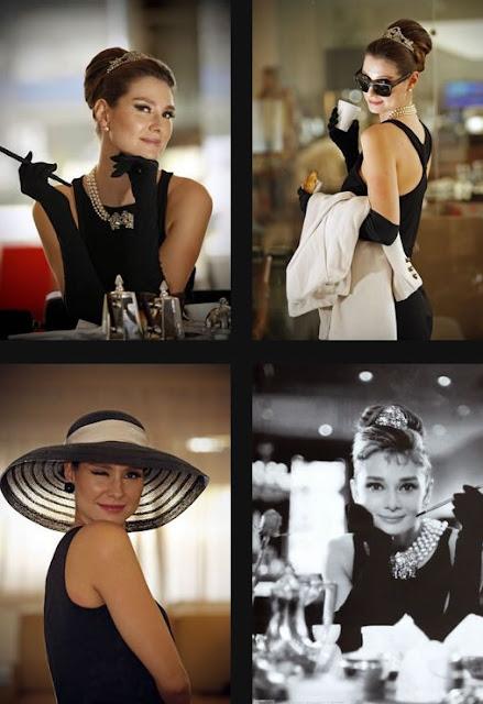 Lavinia Vlasak e bonequinha de luxo