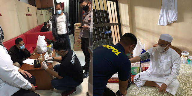 Polisi Cek Semua Makanan yang Diantar Keluarga untuk HRS, Memenuhi Standar atau Tidak