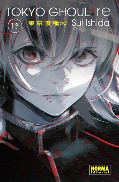 "Reseña de ""Tokyo Ghoul: re"" (东京食尸鬼:re) vol.13 de Sui Ishida - Norma Editorial"