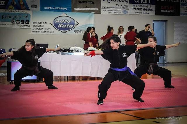 Με 29 μετάλλια οι σχολές Choy Lee Fut Ναυπλίου και Άργους στο 2ο διασυλλογικό πρωτάθλημα κουνγκ φού