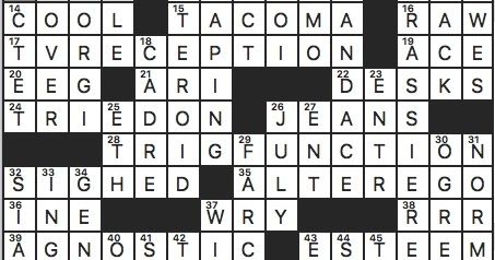 Rex Parker Does The Nyt Crossword Puzzle Telecom Of Old Tue 3 24 20 Palindromic Bird