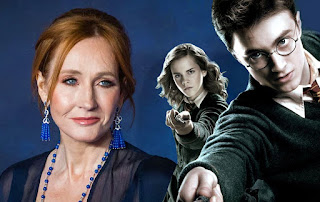 J.K. Rowling announced that it will release 4 new Harry Potter books next month.
