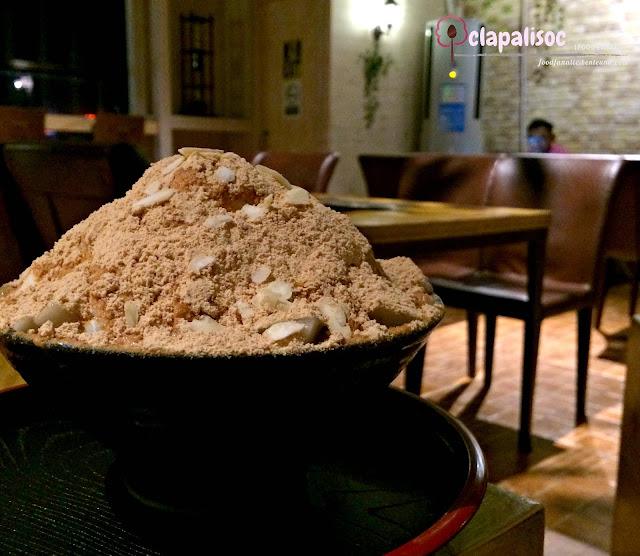 Injeolmi Bingsu of Cafe IF