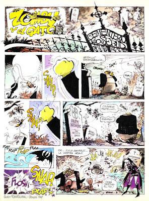 Zomby y el Gato, Creepy 2ª nº 1
