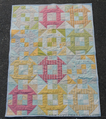 baby quilt pattern layer cake quilt churn dash quilt