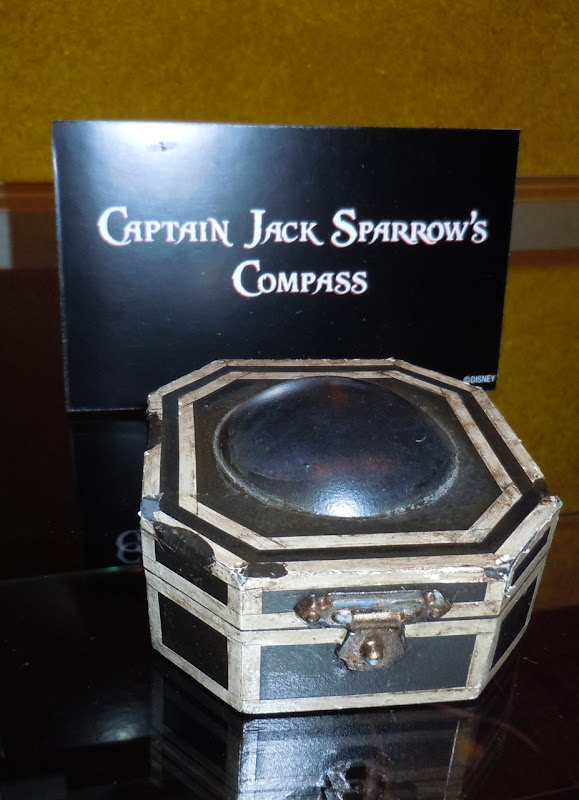 Captain Sparrow compass prop Pirates 4