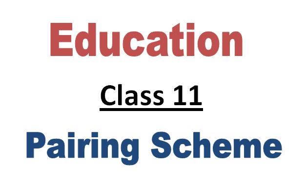1st year education pairing scheme 2021