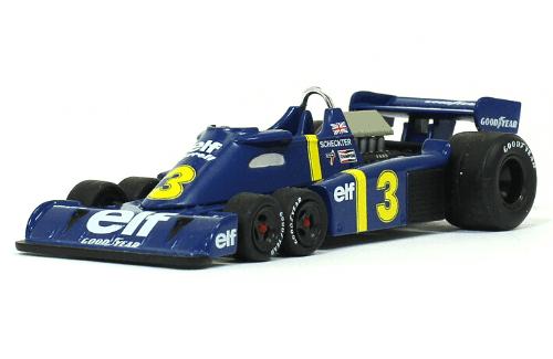 Tyrrell P34 1976 Jody Scheckter f1 the car collection