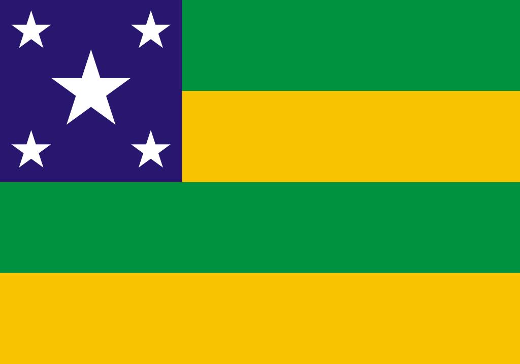 Bandeira do estado brasileiro de Sergipe