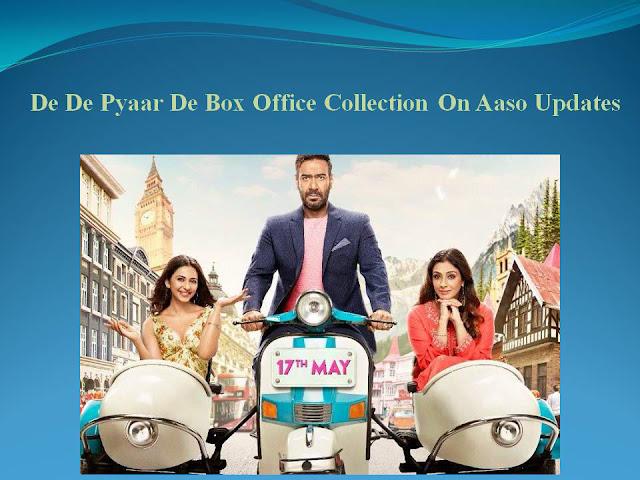 De De Pyaar De Box Office Collection | India | Worldwide | Day Wise