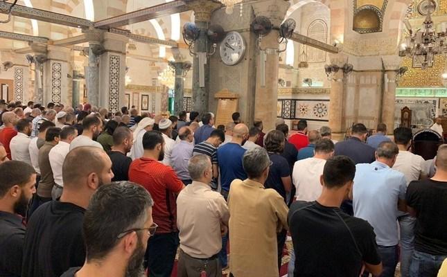 Detik-Detik Sholat Gaib Mohamad Mursi di Masjid Al-Aqsa Palestina